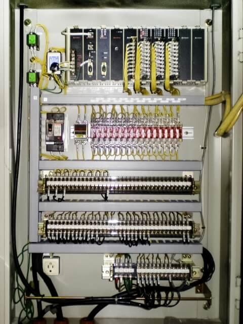 制御回路(PLC)の線番号