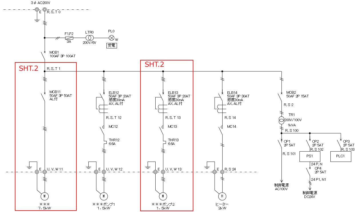 展開接続図(主回路)の作成手順(書き方) | 電気制御設計 ...