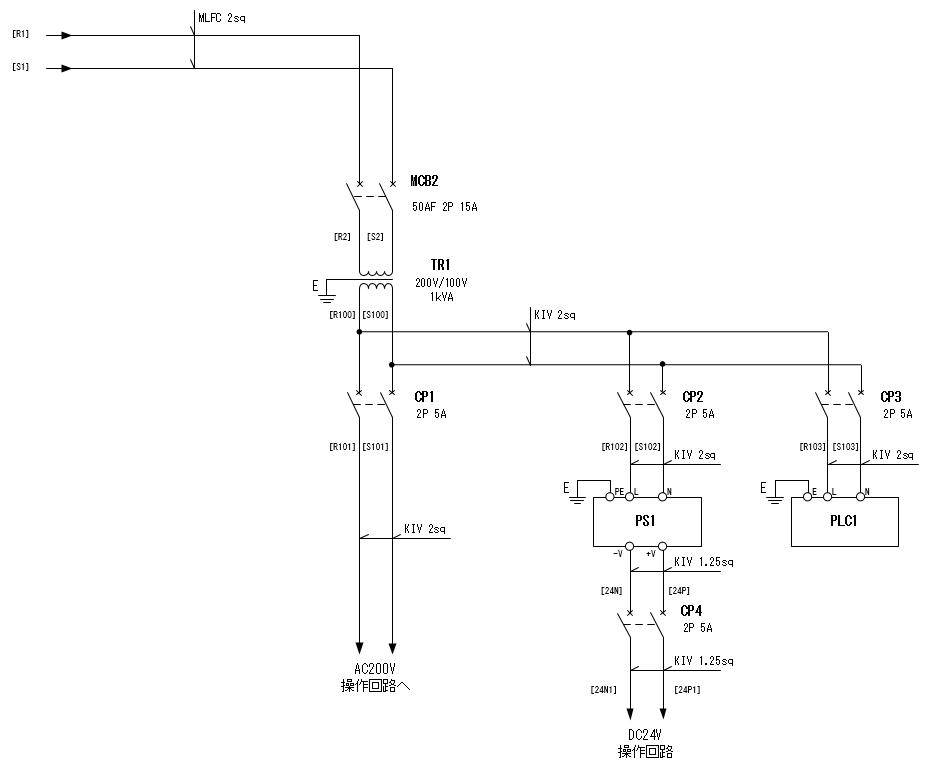 展開接続図 SHT.4