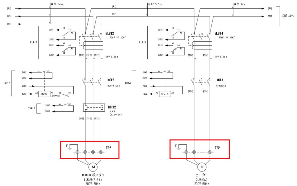 展開接続図3ページ目のTB2