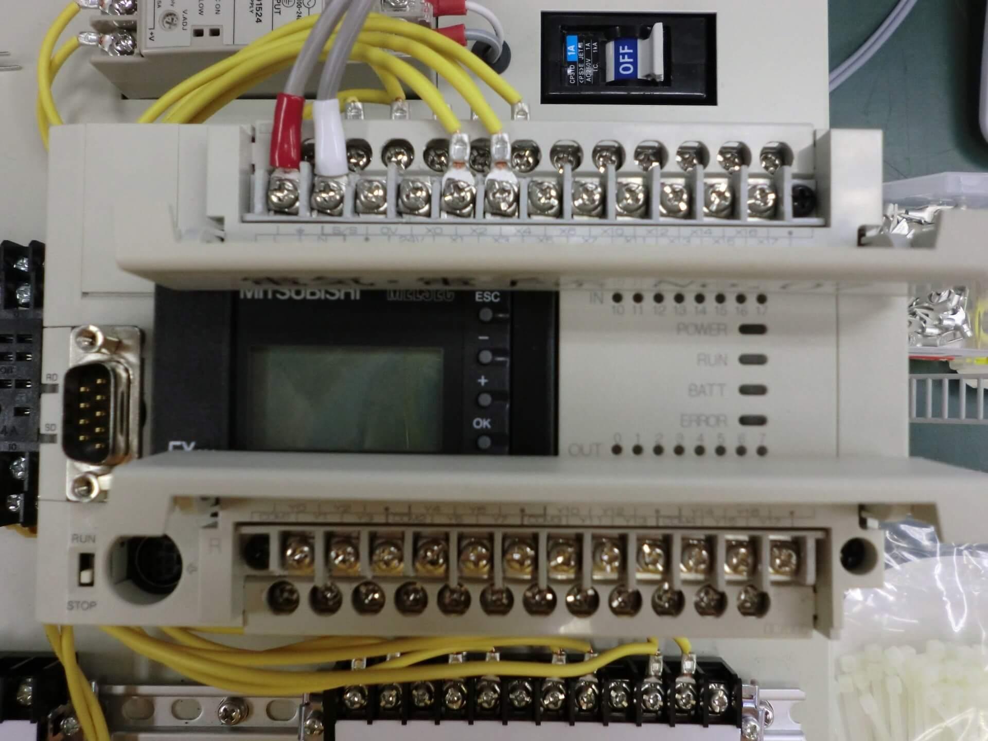 PLCでの通電試験の手順