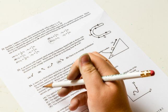 筆記試験の注意点